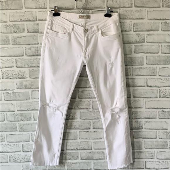 Zara White Jeans Z1975 Denim 06 38